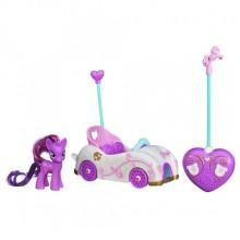 Машина с пони Твайлайт Спаркл  Май Литл пони на радиоуправлении My Little Pony Remote Control Vehicle