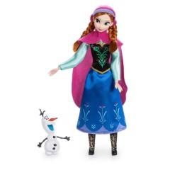 Кукла Анна с мультфильма Холодное Сердце Anna Дисней шарнирная