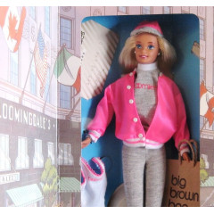 Кукла Барби Barbie at Bloomingdales Big Brown Bag