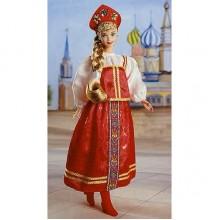 Барби кукла из серии Куклы Мира Russian Barbie Россиянка