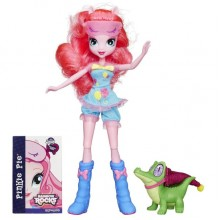 Кукла Пинки Пай с крокодилом  Гамми My Little Pony Equestria Girls Rainbow Rocks Pinkie Pie and Gummy Snap