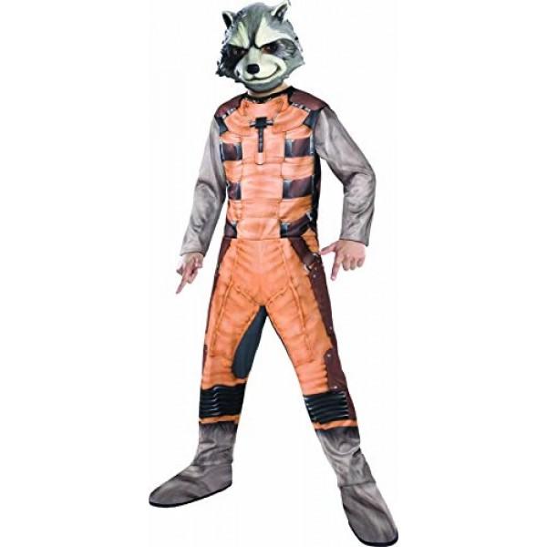 Adult deluxe rocket raccoon costume