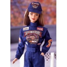 Кукла Барби 50 th aniversary Nascar