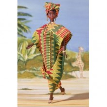 Кукла Барби Ghanian серия Куклы Мира. Жительница Ганы