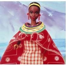 Кукла Барби Кенийка Kenyan серия Куклы Мира