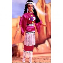 Кукла Барби Индианка Native American 3rd Edition 1995  Barbie Dolls of the World Collection