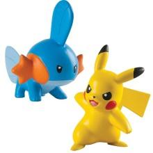 Набор игрушек 2 покемона, фигурки Пикачу и Мадкип Mudkip and Pikachu