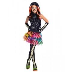 Карнавальный костюм Скелита Монстер Хай  С ПАРИКОМ на девочку на 5-10 лет