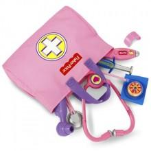 Набор доктора Фишер прайс  розовый Fisher-Price Medical Kit.
