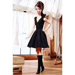 Коллекционная кукла  Барби Силкстоун Barbie Classic Black Dress