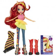 Кукла Сансет Шиммер Май Литл Пони sunset shimmer My Little Pony