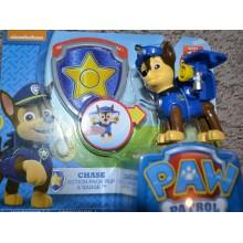 Игрушка Щенячий Патруль Paw Patrol    с собачкой  Racers - Chase. Чейз Гонщик