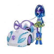 Большая машина  с куклой My Little Pony  DJ Pon 3's  Rockin Convertible . В наборе также есть большие очки от солнца для девочки