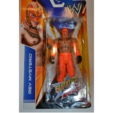 Рестлер  Rey Mysterio в оранжевой маске Рестлинг Wrestling WWE   (фигурка боец) оригинал от Мател