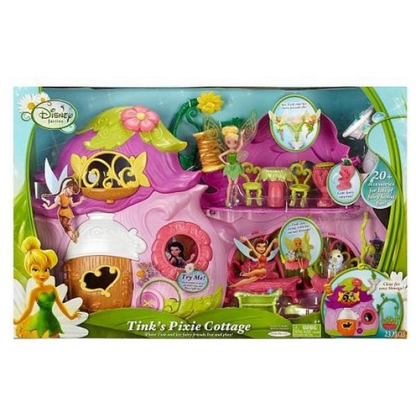 Домик для феи Динь Динь с куклой disney fairies tink's pixie HB16
