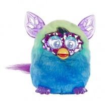 Интерактивная игрушка Ферби Блум Кристалл зелено-голубой Furby Boom Crystal Series Furby (Green/Blue)