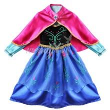 Карнавальный костюм Анна с мультика Холодное Сердце на 4-6 лет.