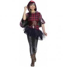 Карнавальный новогодний детский костюм  Красная Шапочка Сериз Худ (Сериз, Серис) с мультика Эвер Афтер Хай на девочку 6-8 лет