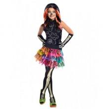 Карнавальный костюм Скелита Монстер Хай  на девочку 6-10 лет