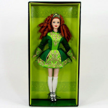 BARBIE Dolls Festivals of the World Irish Dance 2007 Ирланские танцы