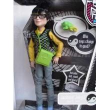 Кукла мальчик Монстер Хай Джексон Джекилл базовый с питомцем и дневником Monster High Jackson Jekyll With Crossfade