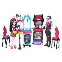 Набор кукол Дракулаура и ее отец Дракула Вампирская кухня Дракулауры Монстер Хай