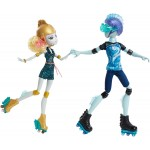 Набор 2 куклы Монстер Хай Лагуна Блю и Гил Monster High Lagoona Blue and Gil Weber Wheel Love