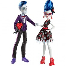 "Набор кукол Монстер Хай Гулия и Слоу Мо Monster High Love's Not Dead Ghoulia Yelps & Sloman ""Slo Mo"" Mortavitch Dolls"