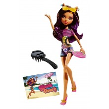 Кукла Клодин Вульф Monster High Gloom Beach Clawdeen Wolf