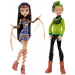 Набор 2 куклы Монстер Хай Клео Де Нил и Дьюс Горгон серии Бу Йорк Monster High Boo York, Boo York Comet-Crossed Couple Cleo de Nile and Deuce Gorgon