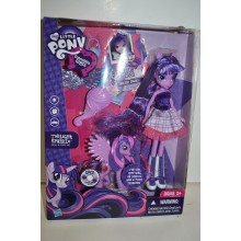 Набор  Кукла Девушки Эквестрии Твайлайт Спаркл My Little Pony Equestria  Twilight Sparkle  и пони
