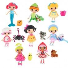 Набор Мини Лалалупси  8  кукол с питомцами. Эксклюзив для Тойсарас Mini Lalaloopsy Tales 3 inch Mini-Dolls 8-Pack