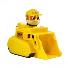 Игрушка Щенячий Патруль Nickelodeon, Paw Patrol Racers - Rubble, машинка и собачка