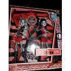 Куклы Монстер Хай Веркошки базовые Monster High Werecat Sister Doll Pack - Meowlody and Purrsephone (веркошки) (Муррсефона & Мяулодия – сестры-близнецы, дочери Кошки-Оборотня)