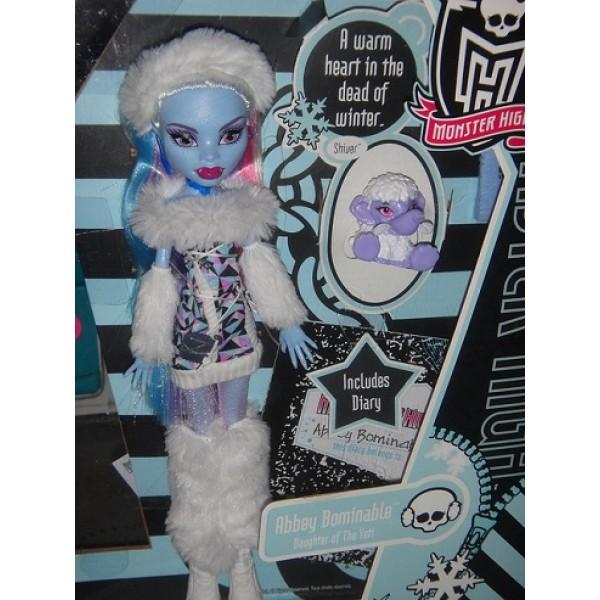 Кукла Монстер Хай Эбби Боминейбл базовая с питомцем - Кукла ...