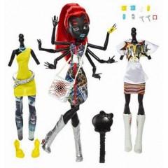 Кукла Монстер Хай Вайдона (Видовна ) Вебарелла Спайдер серия Я люблю моду (Monster High WYDOWNA SPIDER as WEBARELLA) Паучиха.
