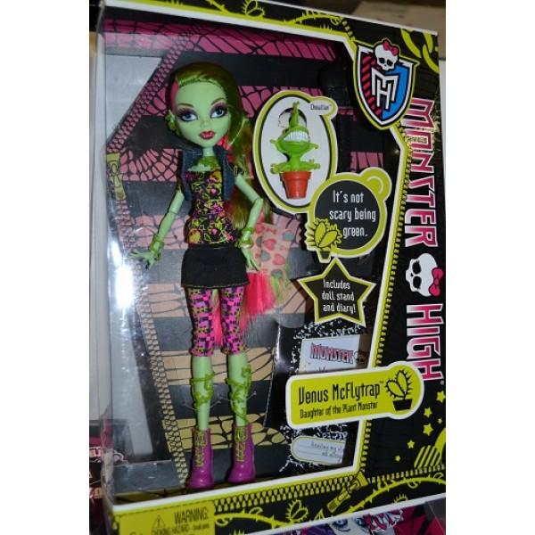 Кукла монстер хай венера базовая купить недорого